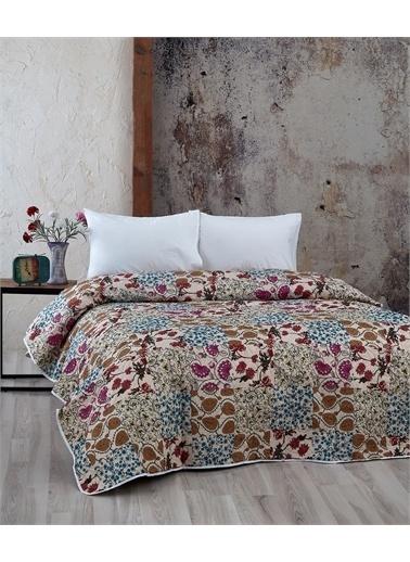 Komfort Home Çift Kişilik Çok Amaçlı Örtü - Pike 200x220 CM / D18 Renkli